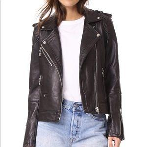 Worn Once! Blank NYC Genuine Leather Jacket